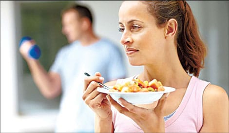 Is Exercising on an Empty Stomach Good or Bad? Photo Credit: www.chinadaily.com.cn