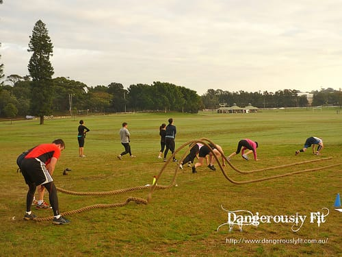 Cross Training Workouts at Dangerously Fit