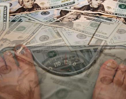 Money as Weight Loss Motivator Photo Credit: themedifastplan.com