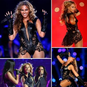 Beyonce Knowles during the Super Bowl Halftime Show Photo by: theartofeverydayjoe.com