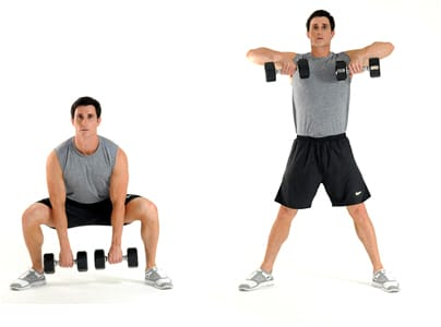 get a full body workout with circuit training routine