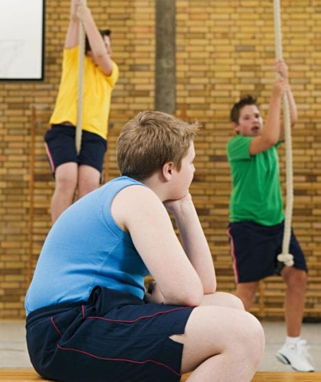 Parents should motivate their children to have an active life as much as possible. Photo Credit: www.dailymail.co.uk