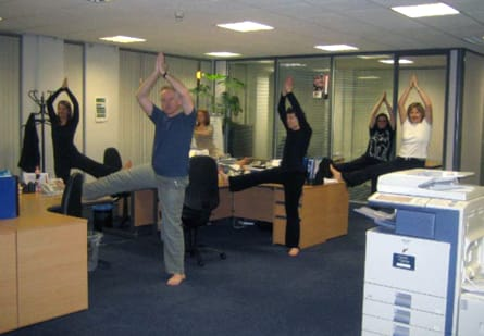 bring yoga to your workplace