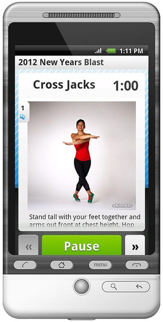 Fitness Apps Can Be Useful For You &Your Personal Trainer CC by mariachily, flickr.com/photos/mariachily/