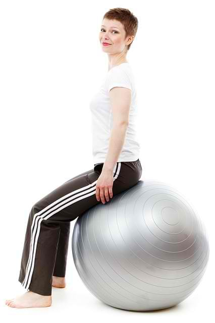 Stability Balls Are Added In Fitness Plans To Increase Core Strength And Improve Balance And Stability