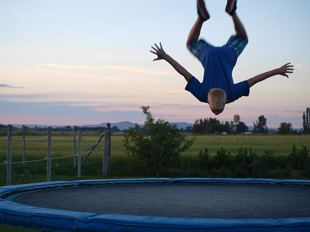 Trampoline exercises are not only fun, they're also great fat blasters,