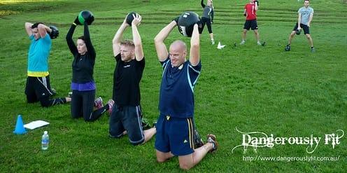 Medicine Ball Workout at Boot Camp Sydney