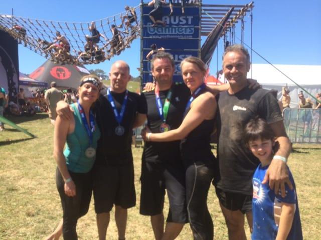 The DF Elite Crew at Spartan Race
