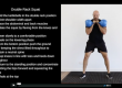 Double Kettlebell Rack Squat