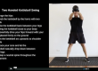 two handed kettlebell swing