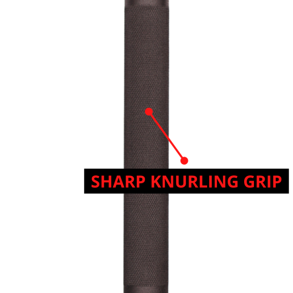 Sharp Knurling Grip